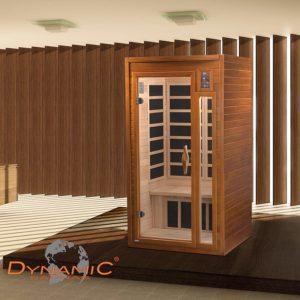 DYNAMIC SAUNAS AMZ-DYN-6106-01 Barcelona 1-2 Person Far Infrared