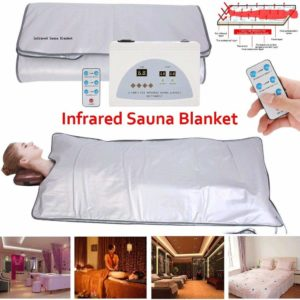 HUKOER Upgraded Version Far-Infrared (FIR) Digital Heat Sauna