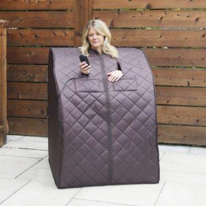 Radiant Saunas BSA6315 Harmony Deluxe Large Portable Sauna