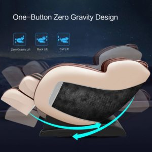 Real Relax 2020 3D Massage Chair Recliner with Bluetooth, zero gravity