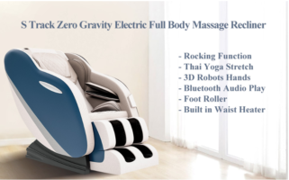 Shiatsu Massage Chair with S-Track, Zero Gravity