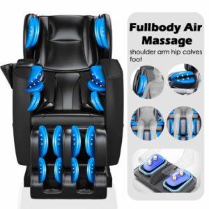 SmartMassageChairs Full Body Electric Zero Gravity Shiatsu Massage Chair