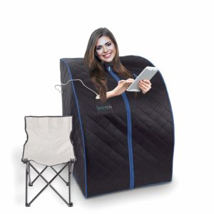 SereneLife Oversize Portable Infrared Home Spa