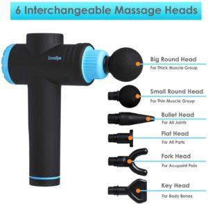 InvoSpa Percussion Massage Gun Head Attachments