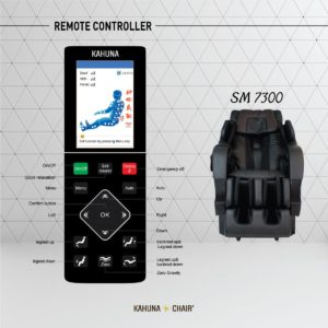 Kahuna SM-7300 Superior Massage Chair Remote Control