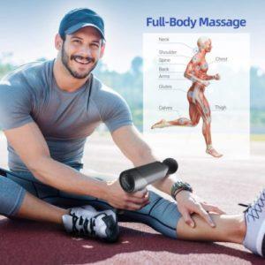 Sportneer Percussion Massage Gun Deep Tissue Muscle Massager