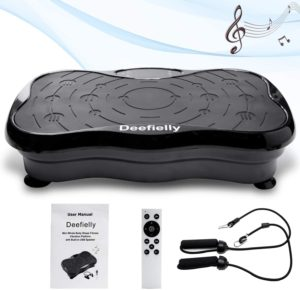 Deefielly Mini Vibration Plate Whole Body Workout
