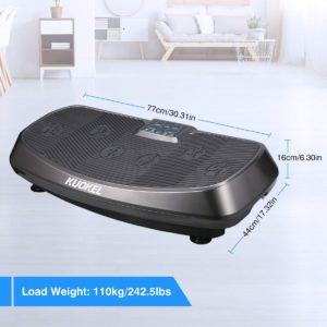 KUOKEL Vibration Plate with Resistance Bands
