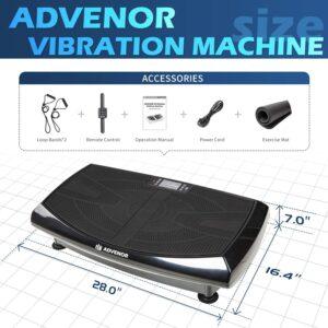 ADVENOR 4D Vibration Plate Accessories