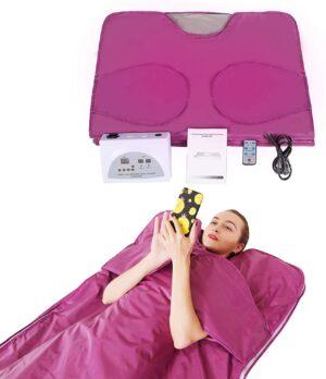 PinJaze Infrared Sauna Blanket Upgraded Stretch Out Hand Design
