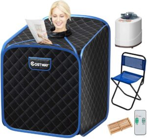 costway portable 2L steam sauna