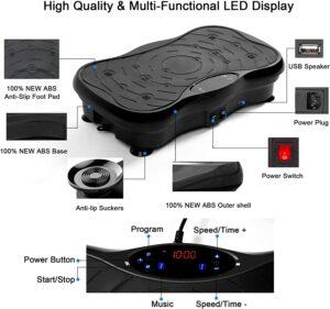 eHUPOO Whole Body Vibration Platform