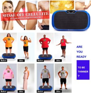 shake off cellulite lldeal Ultra Thin Vibration Plate