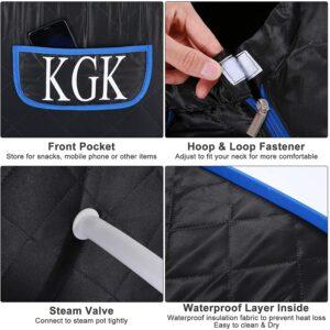 KGK Portable Steam Sauna Spa 3L Steamer