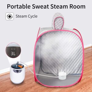 Wodesid Portable Steam Sauna Tent 3L 1000W