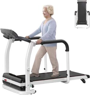 ZJB Elderly Treadmills for Home for Running and Walking