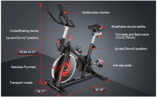 Heka Indoor Spin Bike