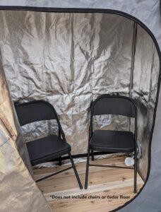 Sauna Rocket 2-Person Home Steam Sauna