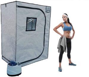 Sauna Rocket 2-Person Home Steam Sauna Kit