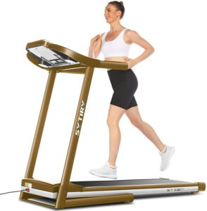 Ultrar Sytiry Home Treadmill with 10.1-inch HD Touchscreen