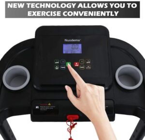 BeKool Treadmill for Home Use LCD Display