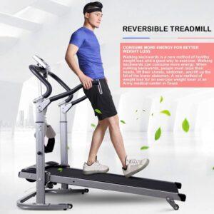 WSSW WSF-08R5 Folding Manual Treadmill