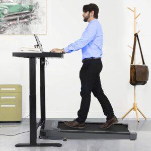 JAHRSTIM Link Life Gamma Under Desk 1HP Walking Treadmill