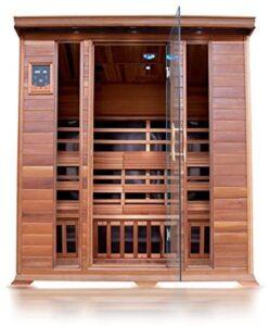 Sunray Sequioa 4 Person Infrared Cedar Sauna