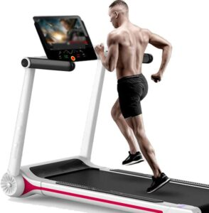Wricay Folding Electric Treadmill