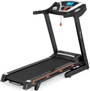 YITAHOME Foldable Treadmill 2.75HP Support 9.2 MPH