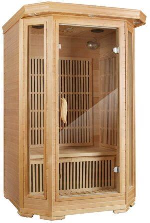 MRNIU Steam Sauna Indoor Sauna 2-Person