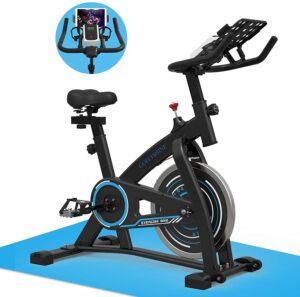 goflyshine 35lb stationary exercise bike