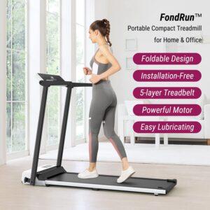 FondRun Folding Under Desk Treadmill