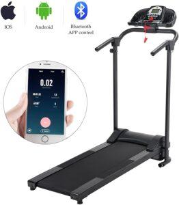LETRA Folding Treadmill Electric Motorized